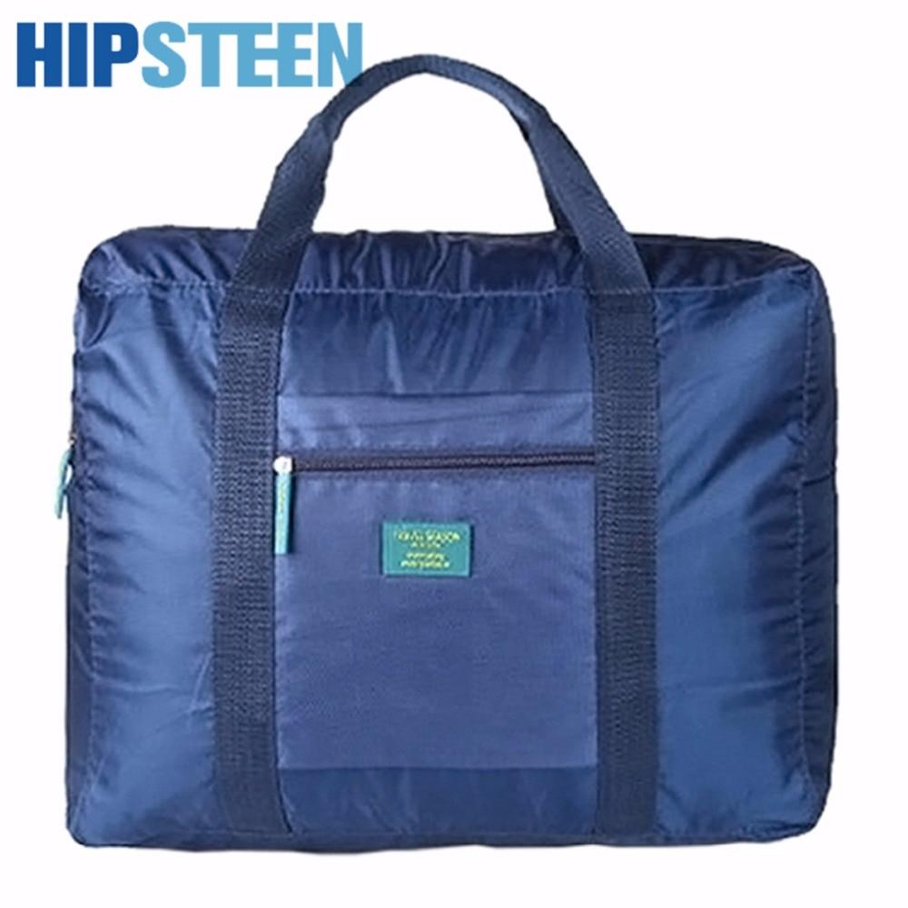 HIPSTEEN большой Для женщин Для мужчин туристические складные сумки сумочка Одежда Организатор сумка для хранения прилагается к Чемодан сумка ...