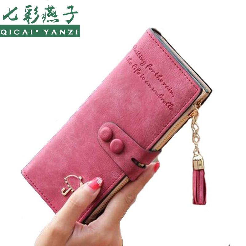 2017 Women Long Wallet Multi-functional Umbrella Zipper Female Purse Wallets Handbag Clutch Card Holder Top portefeuille femme