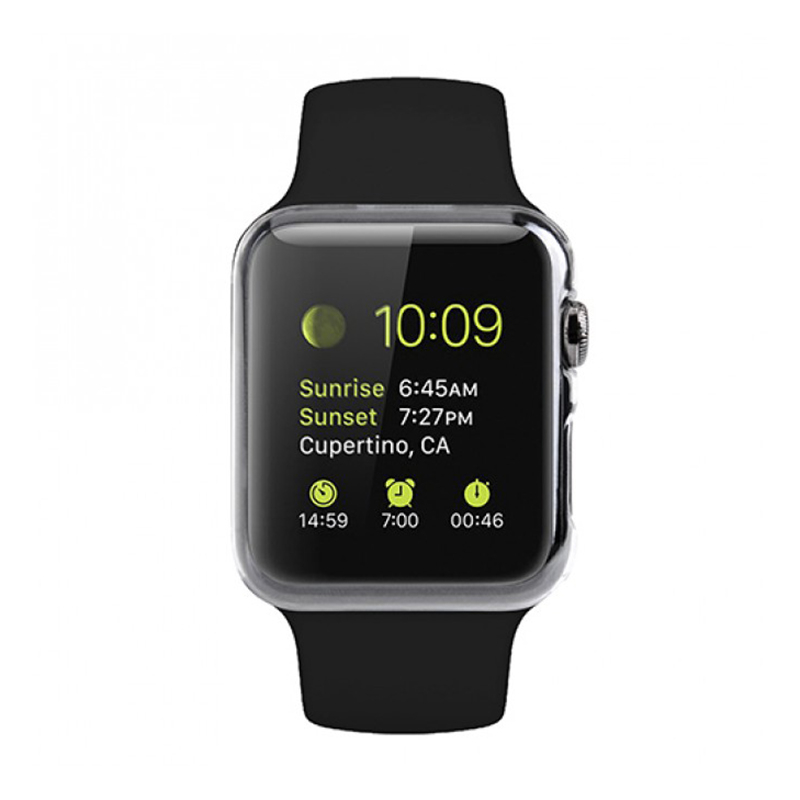 Protective-Film Screen-Protector Watch-Series Premium for Apple 2-1 38mm 42mm Soft Full-Hd-Cover