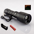 New 2 in 1 Led Flashlight with Green Laser pointer lazer light Search Led light 800 lumen flash light lamps for hunting fishing