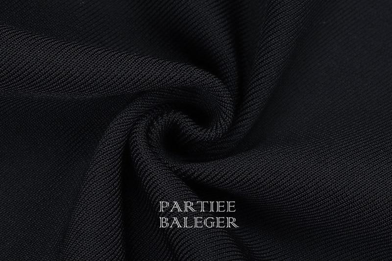 Longue Noir Celebrity 2019 Longues Robe Manches Bandage Patchwork Arrivée Mode Nouvelle À La Manteau Party Club Dentelle Conception qBB6wXSTn