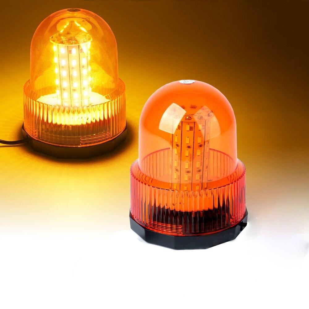 40 LED 12V 24V Red Yellow Blue car Vehicle Police LED Strobe rotating Warning light led flashing Emergency Beacon lamp(China)