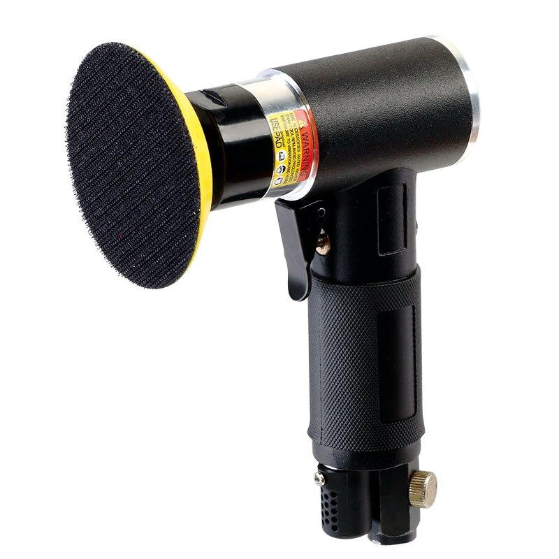 цена на SAT7463 Air Inlet 1/4 Pneumatic Sander Air Tools Pneumatic PolishingTool Air Sander Pneumatic Polisher