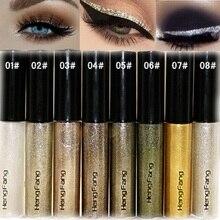 8 Colors Liquid Glitter Eyeliner Waterproof Long Lasting Eyeshadow Shimmer Sparkling Makeup Diamond Cosmetic подво