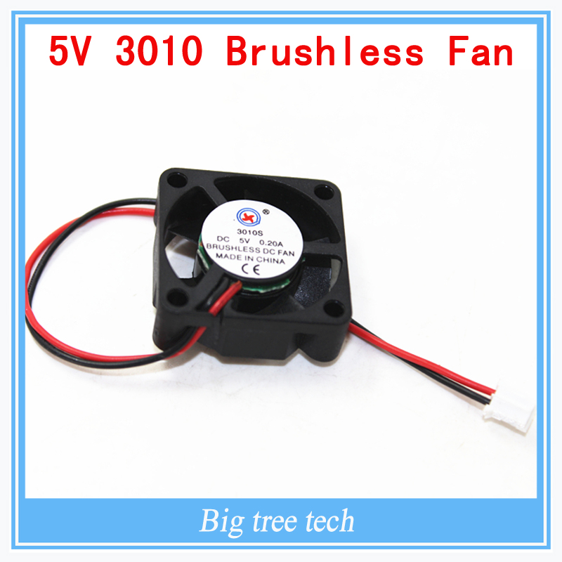 3010s <font><b>30MM</b></font> 30 x 30 x 10MM <font><b>5V</b></font> 2Pin DC Cooler Small Cooling <font><b>Fan</b></font> FOR 3D PRINTER PART with free shipping image
