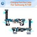 10 unids/lote mejor original puerto de carga flex cable para samsung galaxy a7 2016 a710f conector dock de carga usb conector flex cable