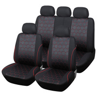 AUTOYOUTH Soccer Ball Style Car Seat Covers Set Universal Fit Most Interior Accessories For peugeot 307 golf 4 mercedes toyota