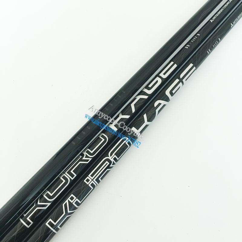 Cooyute Новый гольфовый вал Kuro Kage 55, гольфовый вал, матрица клюшек, графитовый Вал R или S Flex, бесплатная доставка