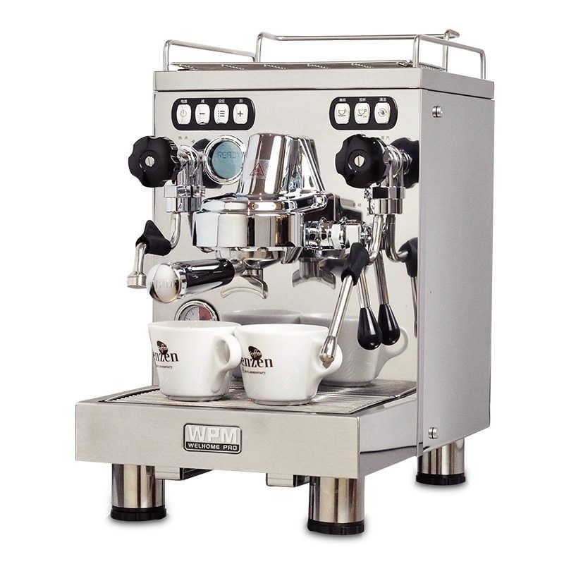 Welhome KD-320 máquina de café de vapor semiautomática de presión de bomba concentrada italiana para uso doméstico y comercial