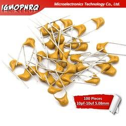 100 sztuk monolityczny kondensator kondensator 10pf - 10uf 22PF 47NF 220NF 1NF 4.7NF 1UF 100NF 330NF 0.1UF 10UF 102 104 105 103 106 50V