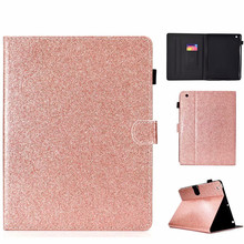 PU Leather Case For iPad 234 Cover Fundas Tablet Fashion Loose powder series Skin Flip Stand Shell 2 3 4