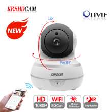 KRSHDCAM 1080P WIFI IP Camera Wireless Security CCTV IR Night Vision Audio Recording Surveillance Network Indoor Baby Monitor