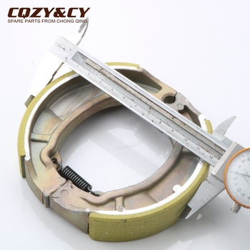 125mm Rear Brake shoes for HONDA CR 125 RS RZ RA RB 1979 > 1981 NX 125 1988 > XL 125 S 1985 > 1987 image