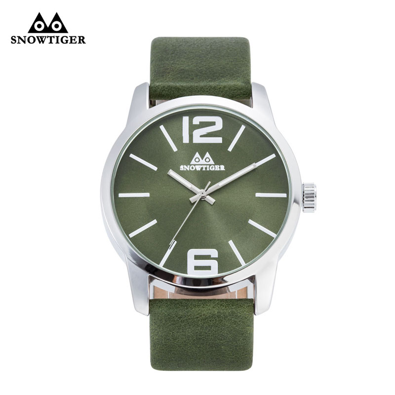 mingtuo new fashion dress watch green and red color leather bracelet women watch round minimalist ladies quartzwatch 30 Snowtiger Green and Black Leather Neutral Simple Fashion Business Dress Women Sport Watch Female Round Man Quartzwatch 20