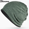 [Dexing]The new fashion elastic variety hip-hop Beanies Skullies scarf spring winter hat for men and women