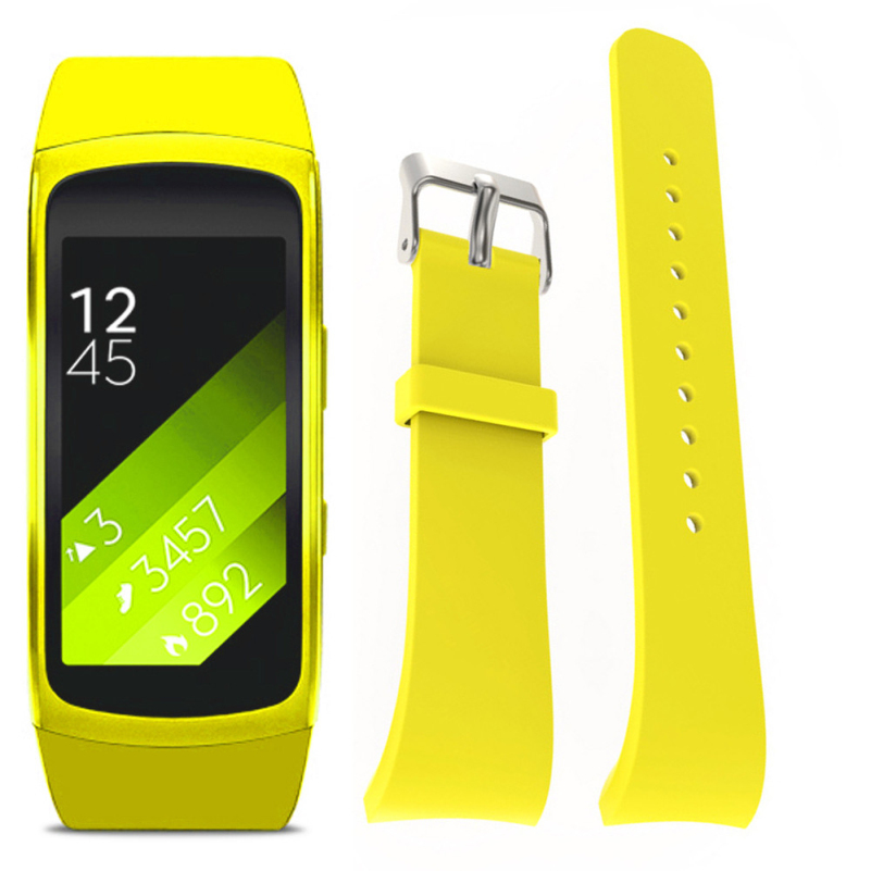Stylish 2016 Original Luxury Silicone Watch Replacement Band Strap For Samsung Gear Fit 2 SM-R360 Wristband Free Shipping ST2
