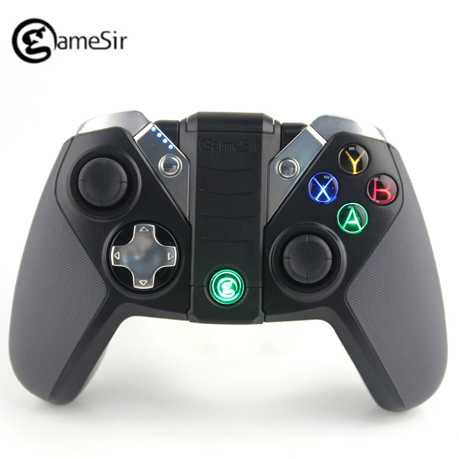 GameSir G4s Bluetooth Gamepad for Android TV BOX Smartphone PS3 2.4Ghz Wireless Controller For VR Games Portable Gaming Joystick betop ax1 usb bluetooth double vibration wireless gamepad joypad games controller handle games for pc for ps3 for android