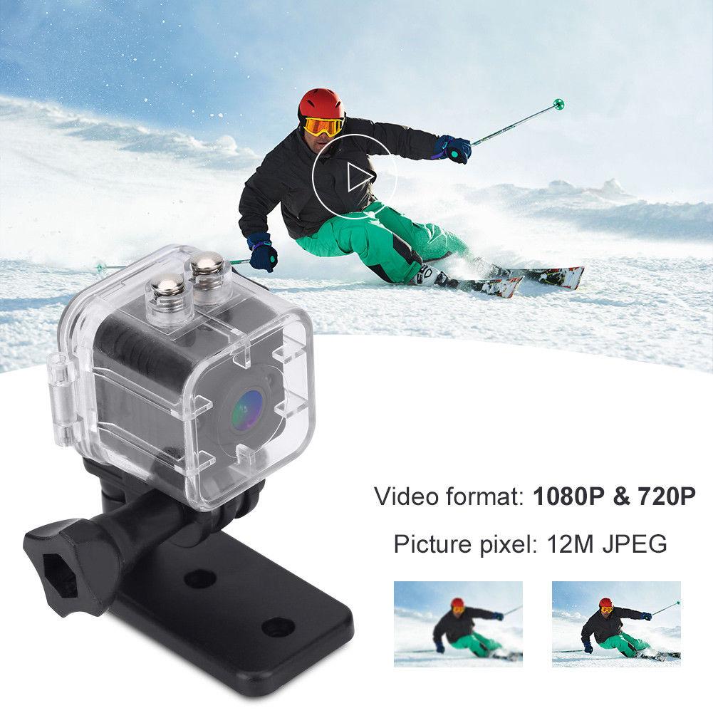16 GB carte + SQ12 Mini Full HD 1080 P caméra vidéo DV Sport IR Vision nocturne voiture DVR caméscope
