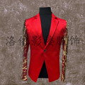The new exclusive 2016 bars male sequined suits DS club guests male stage Studio photograph suits