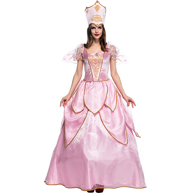 156761aaaea US $34.12 19% OFF|Hot Sexy Elegant Deluxe Fairy Godmother Costume Adult  Glinda Wizard of Oz Halloween Fancy Dress on Aliexpress.com | Alibaba Group