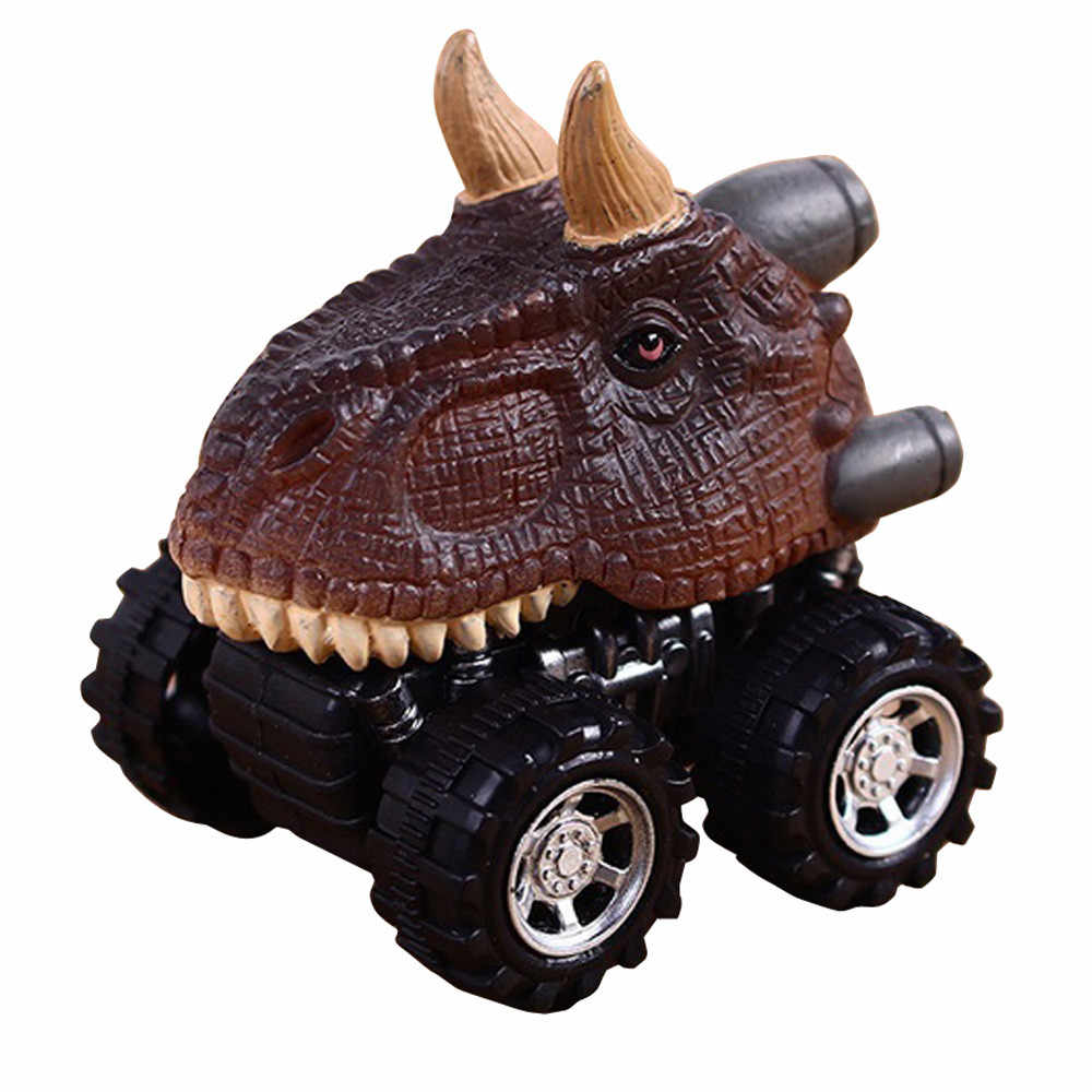 Hari Anak Hadiah Mainan Dinosaurus Model Mini Mainan Mobil Belakang Mobil Hadiah Taman Dunia Dinosaurus Model Action angka Anak Hadiah