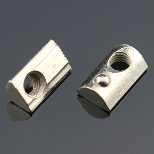 roll in t nuts spring nut block for aluminium profile 30s thread m4 m5 m6 connector screw. Black Bedroom Furniture Sets. Home Design Ideas