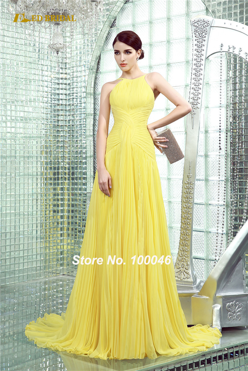 Compare Prices on Long Yellow Prom Dress- Online Shopping/Buy Low ...