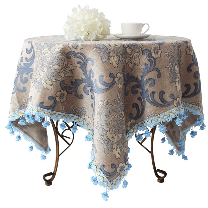 Square Tablecloth Round Table