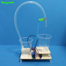 Happyxuan Automatische Water Dispenser Kids DIY Science Project STEM Educaiton Kits School Natuurkunde Experimenten Jongens Creatief Speelgoed(China)