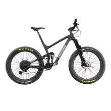 2020 Carbon Trail Suspension 650b plus mtb boost bike 12Speed mtb EAGLE GX group 29er boost complete