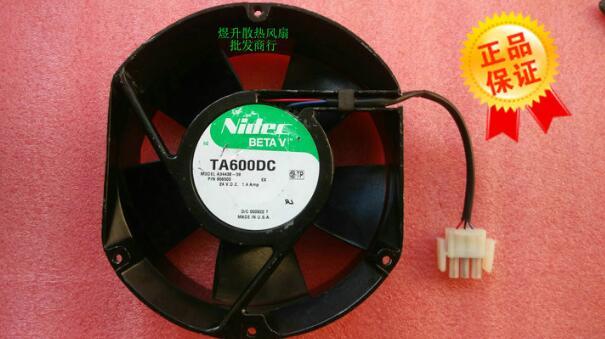 Nidec TA600DC A34438 59 DC24V 1.4Amp 127*151*51 MM drei draht UPS ...