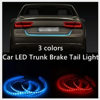 Rear Trunk Tail Light LED Strip Lighting Dynamic Streamer Brake Turn Signal Reverse Led Warning Light