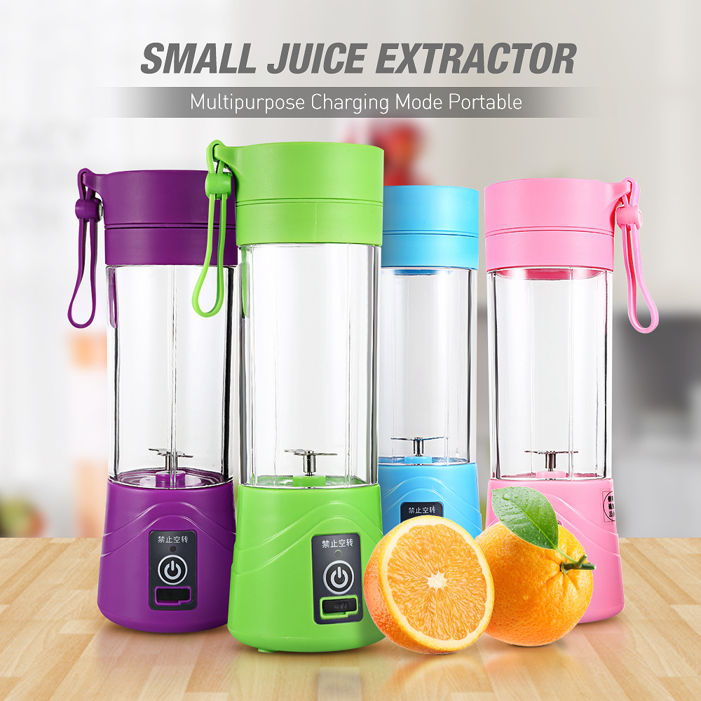 Multipurpose Charging Juicer Extractor Mode Portable Small Household Blender USB low noise Egg Whisk/Juicer/Food sharp cut Mixer