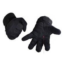 Практичная универсальная тактическая перчатка на весь палец