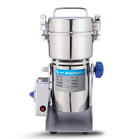 304 Stainless Steel Electric Grinder Home Superfine Grain Blender Commercial Small Steel Mill Powdering Machine