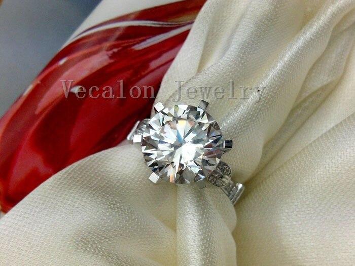 Векалон мода Корона сватбен пръстен - Модни бижута - Снимка 5