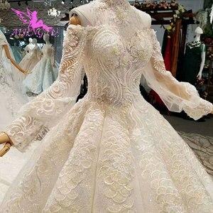 Image 4 - AIJINGYU のウェディングドレスと高級ドレス格安近く私レースインド美しいウェディングプリンセスドレス