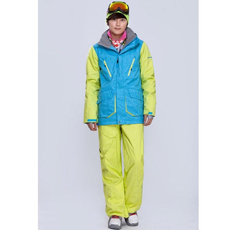 Prix pour GSOU SNOW Hommes combinaison de ski hiver chaud épaississement combinaison de ski en plein air loisirs de sport hommes coupe-vent imperméable ski sous-vêtements vêtements