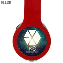 MLLSE EXO KPOP Headband Headphones Earphones Noise Cancelling 3 5mm Stereo Game Headset for Iphone Samsung