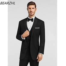 latest coat pant designs tuxedo for men suit black custom made suits high quality prom dress