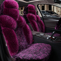 Nova 5D Full Surround Almofada Quente de Inverno Tampa de Assento Do Carro, Tampas de Assento Do Carro Styling Para BMW Toyota Ford Sedan