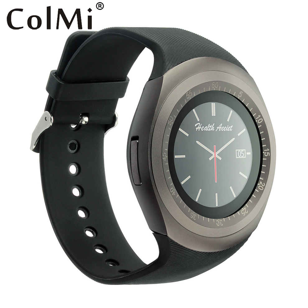 Colmi Y1 Smart Watch Sim Card Tf Slots Phone Call Push Message Pedometer Music Bluetooth Connect With Android 1283