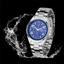 Durable Fashion  relogio masculino NARY Luxury Women Single Quartz Stainless Refined Steel Wrist Watches quartz-watch