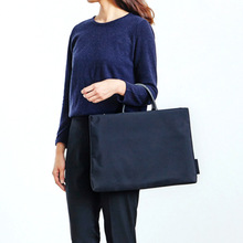Solid Nylon Business Briefcases Laptop Bag Multifunction Waterproof Handbags Portfolios Man Shoulder Travel Bags