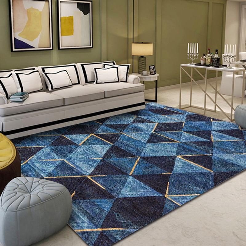 Дом в скандинавском стиле гостиная ковер Ins Европейский диван прикроватный коврик отель Прихожая Американский ковер машинная стирка