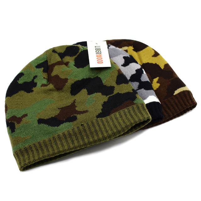 0d6c613629bd US $8.57 |LIBERWOOD Tactical hat Winter Warm Camouflage Hats For Men Women  Camo Knitted Cap Soft Beanie Skullies Hat Skiing Skating-in Skullies & ...