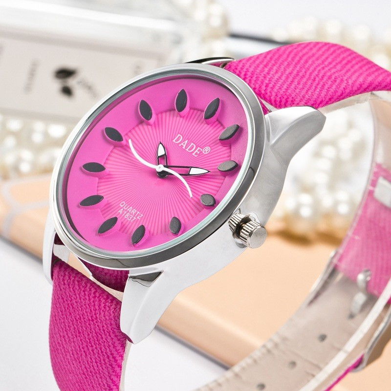 frumosi pantofi cel mai mic pret vânzare online Women watches DADE Brand Quartz Watches Female Clock Hour Quartz ...
