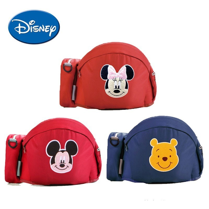 Disney Baby Carrier Waist Stool Kids Infant Hip Seat Baby Sling Hold Waist Belt Comfortable Backpack Hipseat Belt