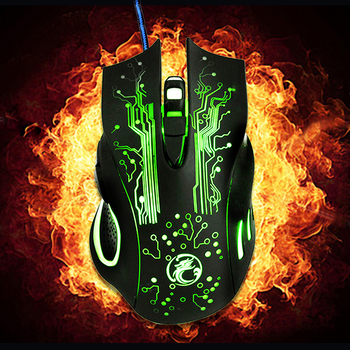 Wired-Gaming-Mouse-6-Buttons-5000DPI-LED-Optical-USB-Computer-Mouse-X9-for-PC-Laptop-Mouse-Gamer-2