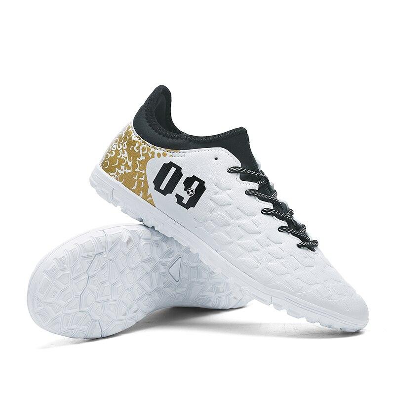59b17cdd9cb64 Chuteiras Futebol tacos Chuteira de Futsal fútbol zapatos para hombres alta  Original con calcetines profesional bota